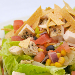 chicken tortilla salad