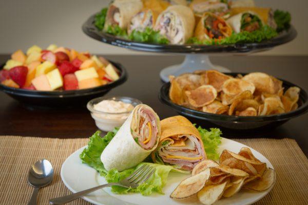 Executive Lunch - Club Wrap