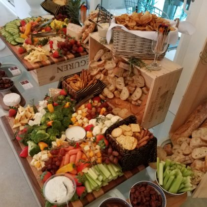 Bring It On Display - Fruit, Cheese, and Nut Display