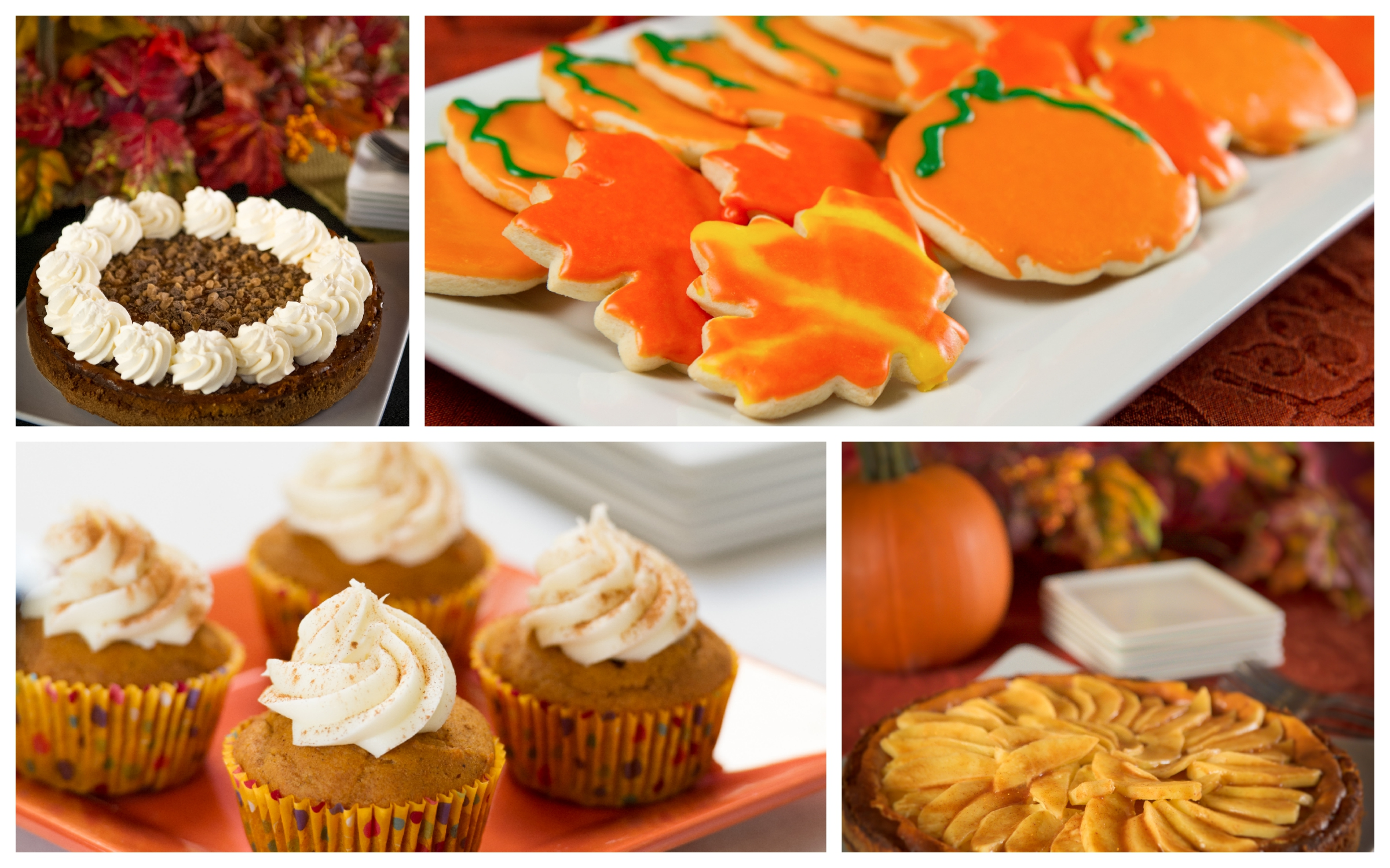 Fall Foods Collage
