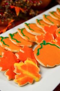 Fall Theme Sugar Cookies